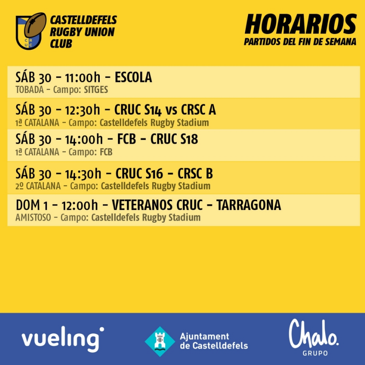 cruc rugby partidos