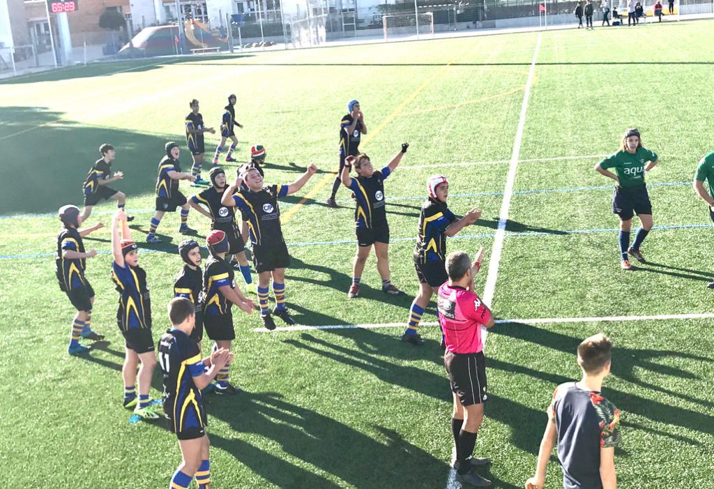 Victoria del CRUC Sub14 contra Sitges A Sub14