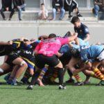 Partido del CRUC Sub 18 de rugby contra la UE Santboiana. Derrota 24-40