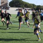 Encuentro entre el CRUC sub 14 y el BUC en el partido de la 7 jornada de 1ª catalana
