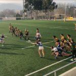 tercera victoria consecutiva de CRUC-UES femenino frente a INEF Lleida