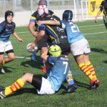 Partido del CRUC Sub 14 contra la Santboiana, con un resultado de 0-100