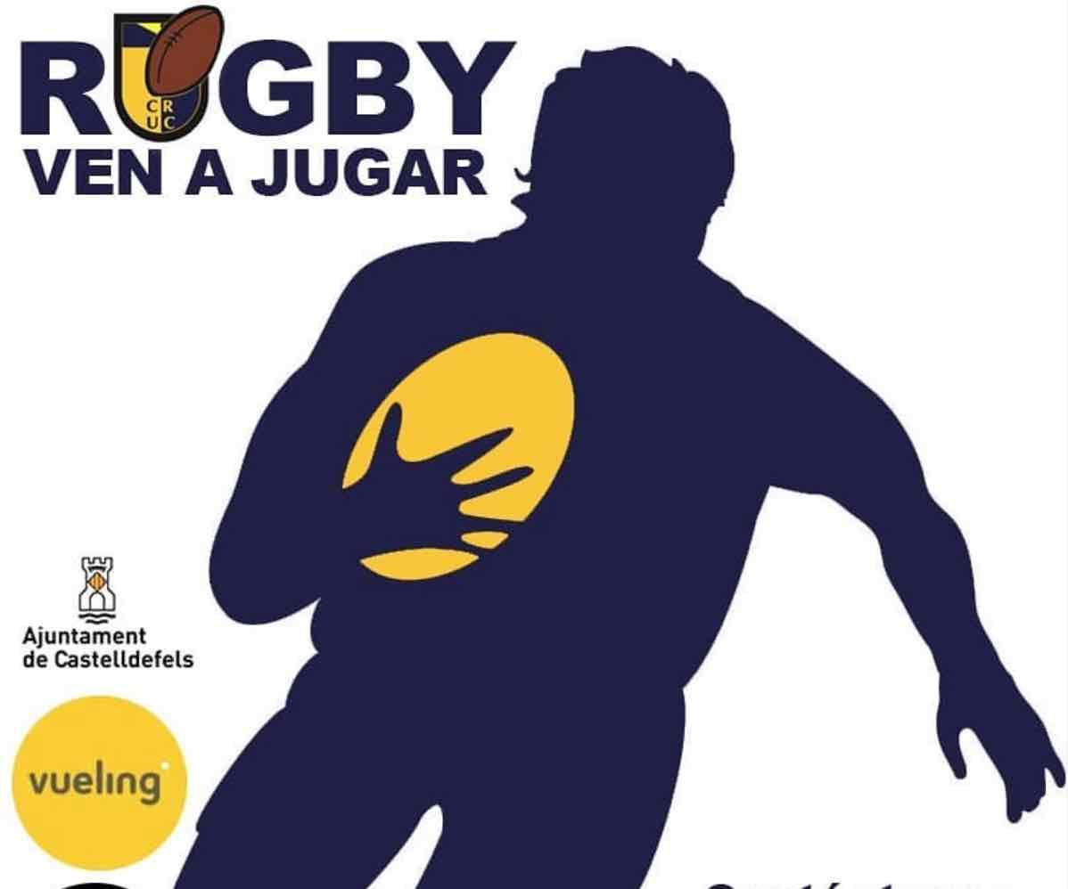 ven a jugar Rugby