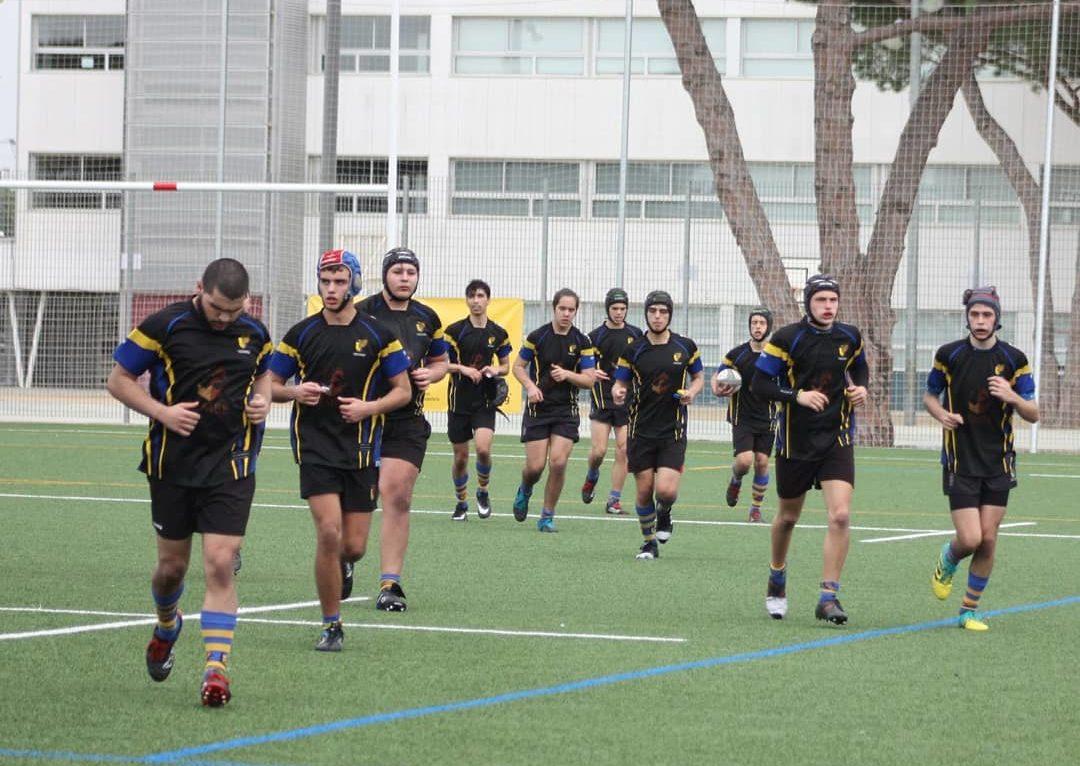 Partido entre CRUC Sub 18 y Barcelona Rugby. Victoria de los visitantes