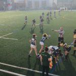 partido del UES CRUC Femenino de la liga femenina de rugby