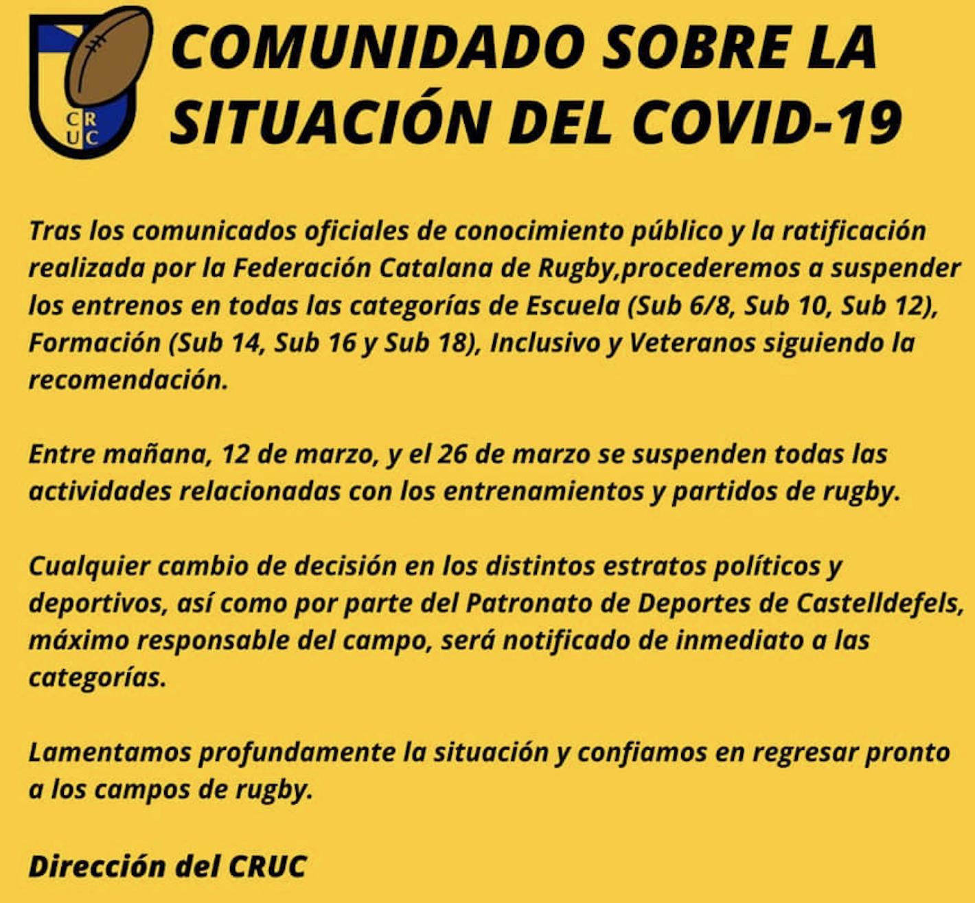 coronavirus cruc