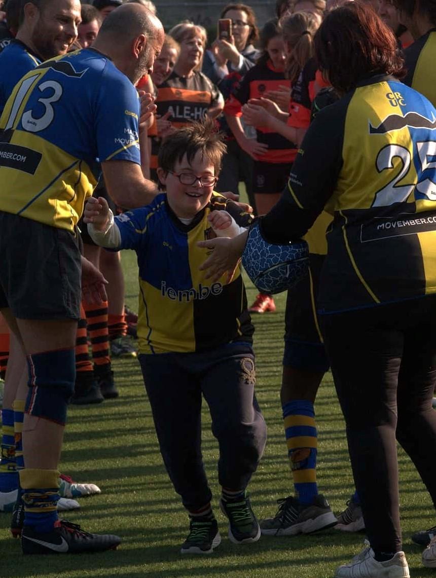 el cruc apuesta por el rugby inclusivo y tiene un proyecto de largo recorrido