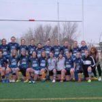 equipo femenino castelldefels RUC - UE santboiana