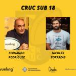 cartel con los nuevos entrenadores del CRUC Sub 18 de la temporada 2020 2021