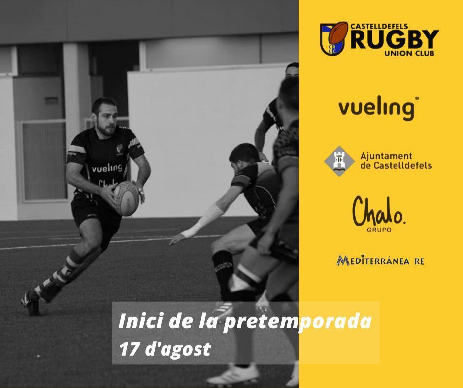 pretemporada Castelldefels Rugby Union Club en agosto