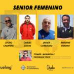 staff tecnico del equipo de rugby femenino CRUC UE Santboiana para la temporada 2020-2021
