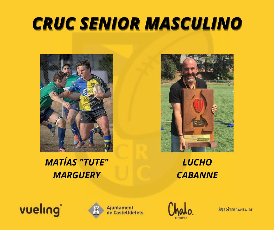 entrenadores del CRUC senior masculino para la temporada 2020-2021