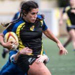 Linda Lopez, jugadora de rugby femenino del CRUC, elegida mejor 6 de la década