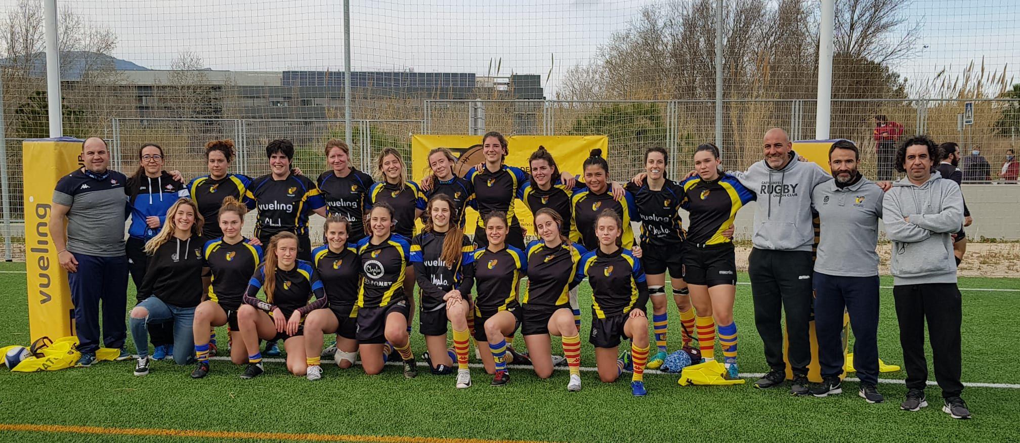 imagen del CRUC-UES senior femenino de la presente temporada
