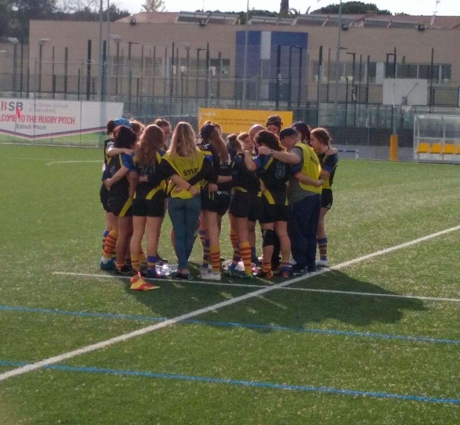 CRUC senior femenino y Santboiana ganan el partido contra Sant Cugat