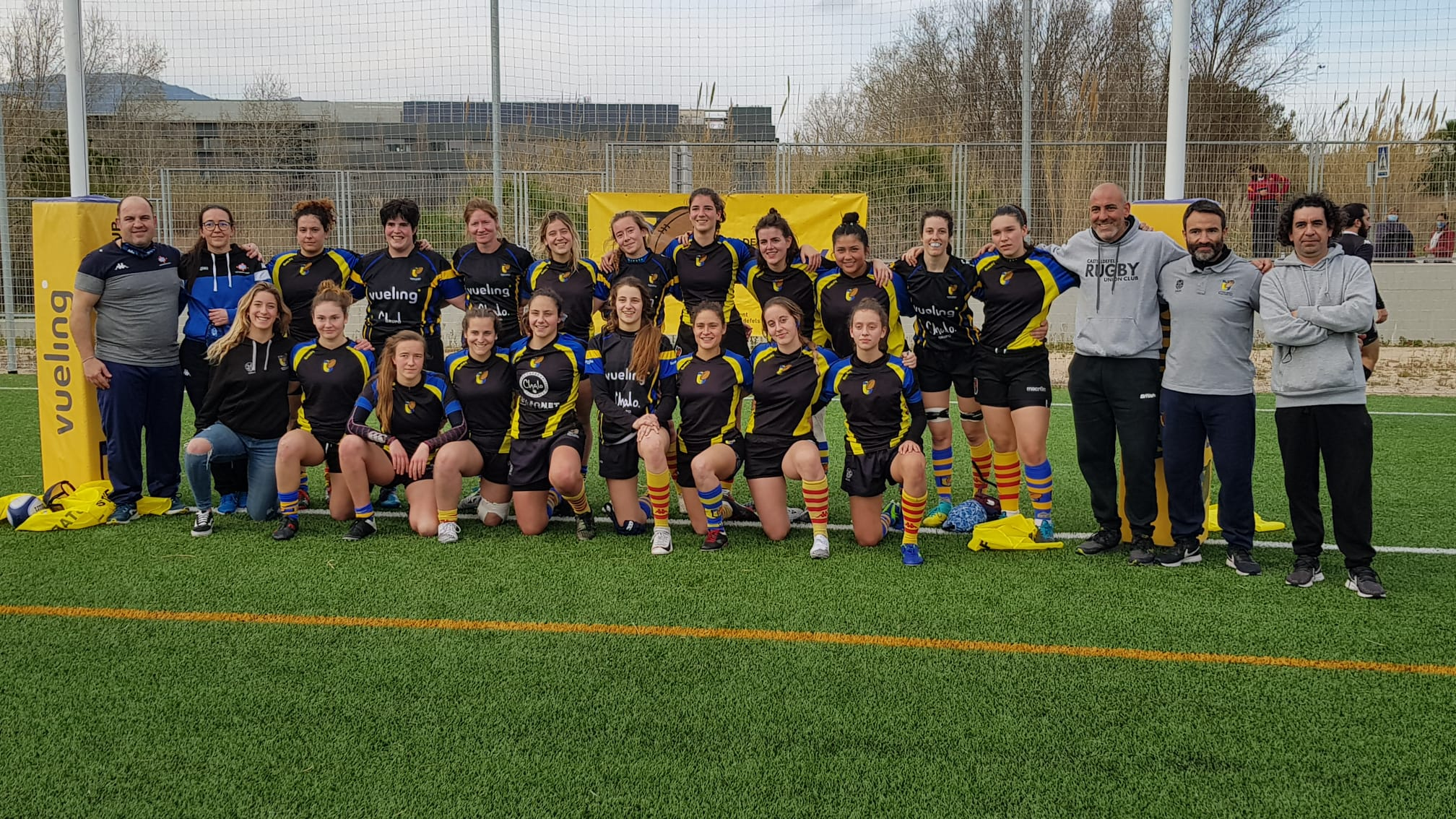 equipo femenino CRUC-UES temporada 2012