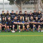 equipo del CRUC senior masculino después de una de sus victorias mas relevantes
