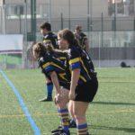 imagen de las jugadoras y jugadores del sub 16 del Castelldefels Rugby Union Club