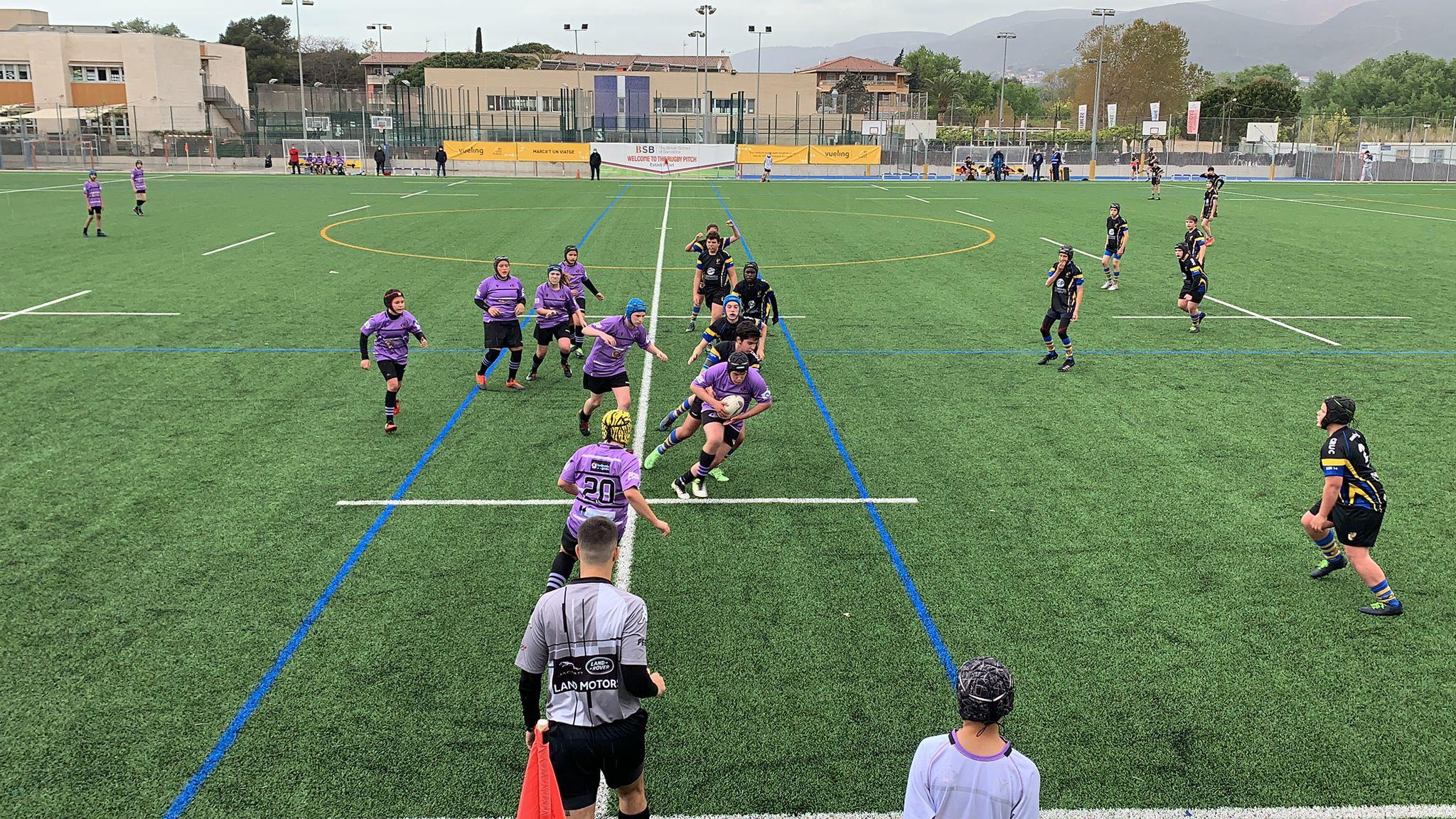 partido de la categoría sub 14: CRUC vs CR Tarragona Voltors