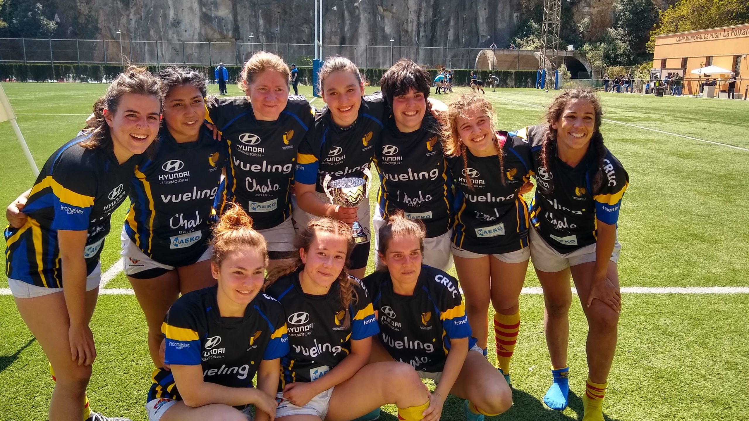 senior femenino CRUC-UES, subcampeonas de Catalunya