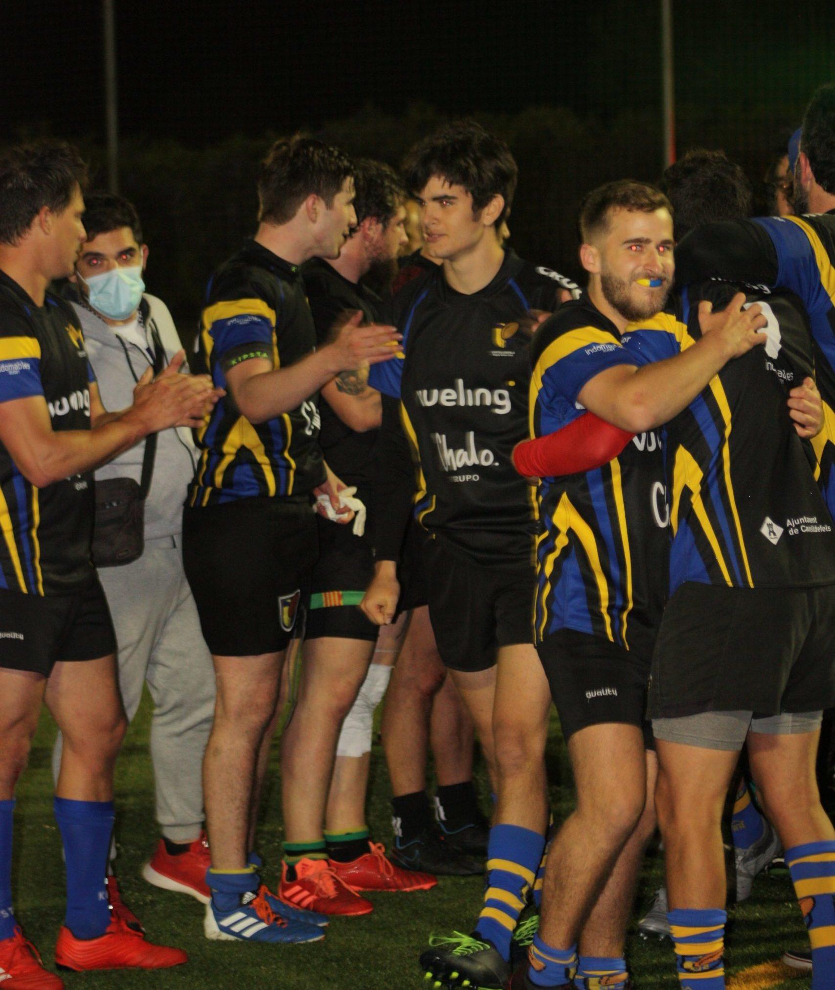 Epica victoria del CRUC en Viladecans, partido del Grupo D de la DHC