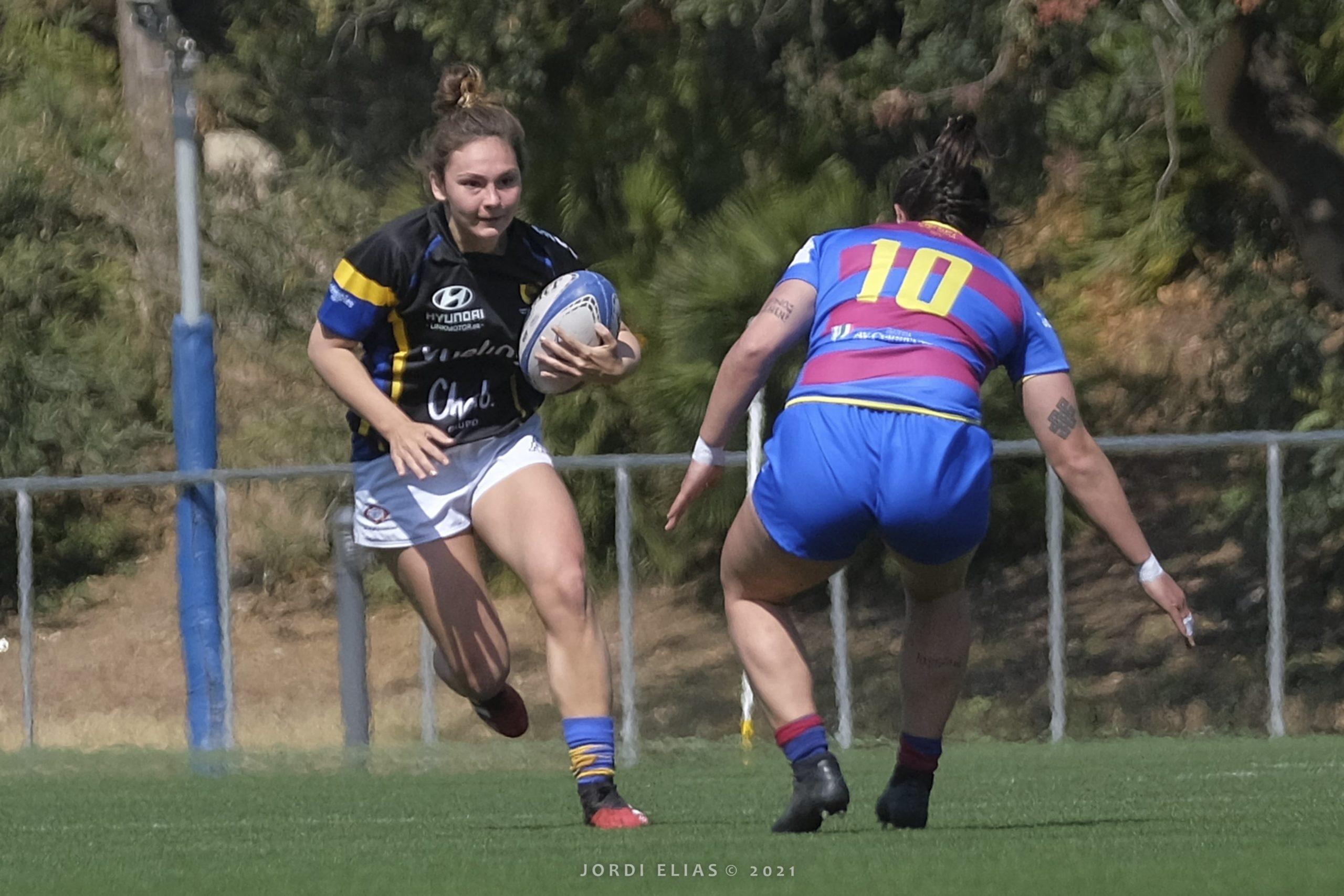 Copa Catalana OR de rugby femenino, donde participa el CRUC