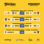 agenda del Castelldefels Rugby del sábado 22 de mayo de 2021