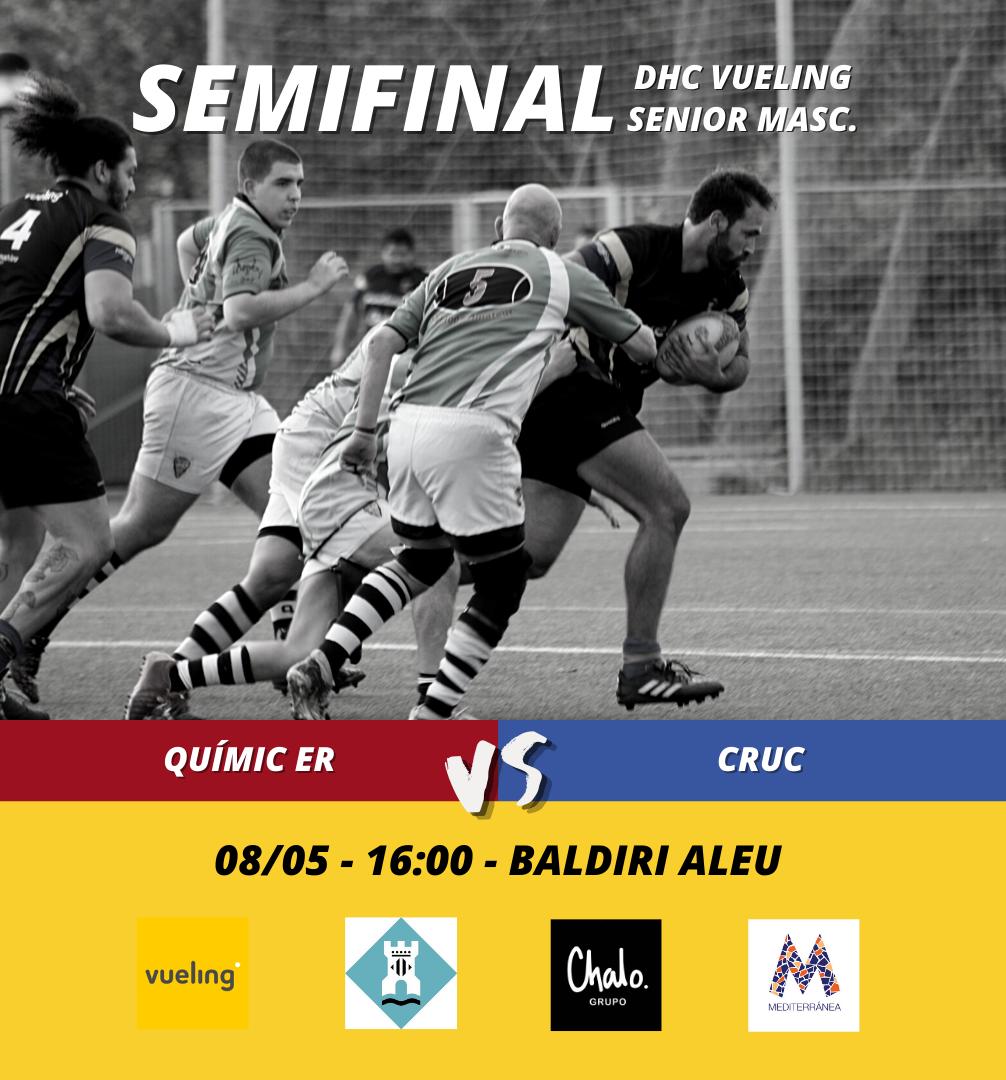 semifinal de la DHC masculina entre el CRUC y Quimic de Barcelona