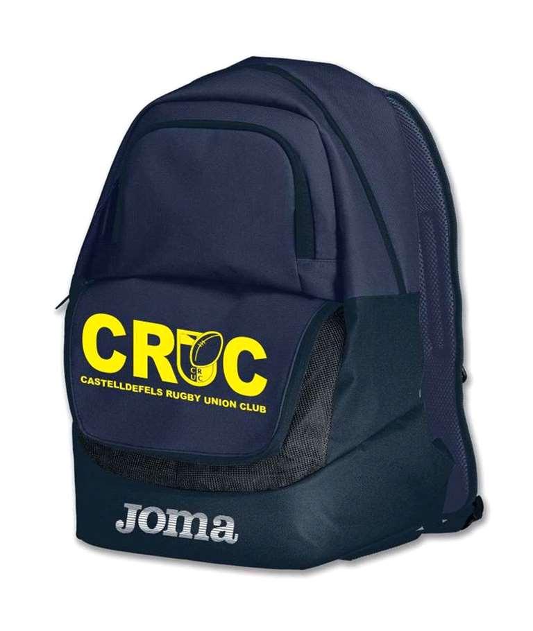 En la tienda del CRUC, mochila tipo diamond en la tienda del CRUC