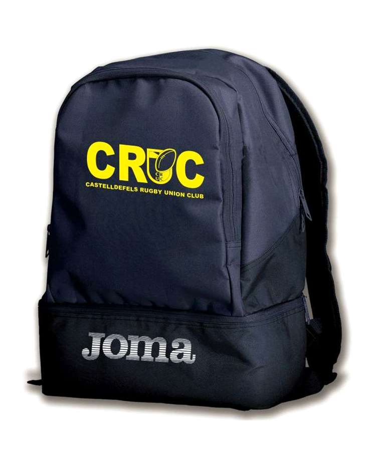 Modelo Estadio III en la Equipabase, también de la marca Joma. Por si no quieres una mochila tan grande.