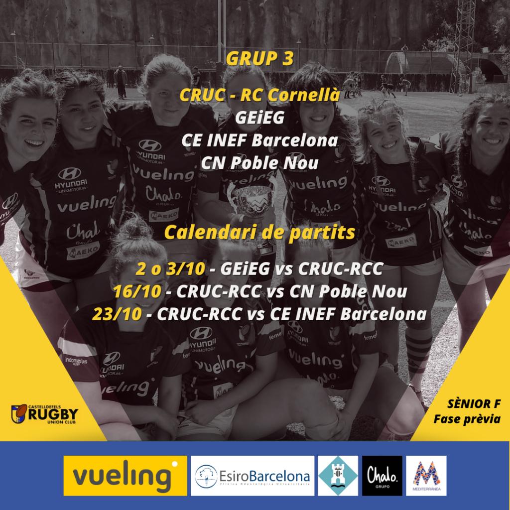 Nueva época para el senior femenino, que jugará junto al RC Cornellà. Todas las aspiraciones para un grupo muy compacto.