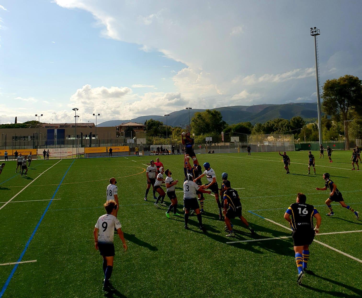 partido amistoso entre el CRUC senior masculino y el RC Sitges