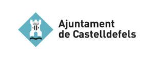 escudo del ajuntament de castelldefels, socio institucional del CRUC