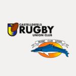 logos del CRUC RC Sitges en categoría sub 18