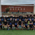Foto de equipo del CRUC senior masculino, correspondiente al partido contra el CN Poble Nou